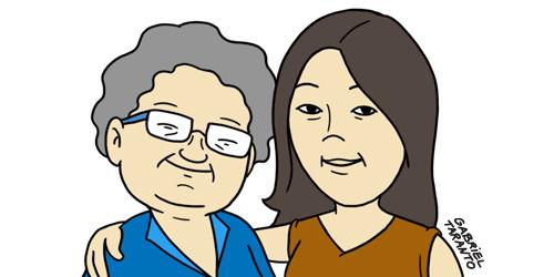 70多岁的母亲参与课程有感